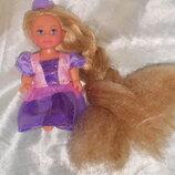 шикарная кукла Steffi & Evi Love Рапунцель с длинными волосами Simba Германия оригинал клеймо 12 см