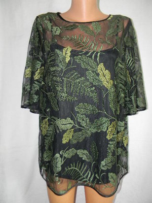 Красивая блуза с вышивкой 16p
