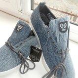 Кроссовки джинсовые мокасины ACTIVE PRIME Лучшая цена