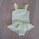 купальник детский 12-18 м лет фирменний девочке детский жолтий Primark Примарк