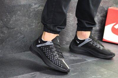 Nike EXP-X14 кроссовки мужские демисезонные черные 7881