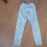 штани джинси 6-7 л зеление мятние девочке как новые F&F