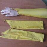 Продам цветные перчатки к платьям.