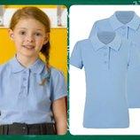 Новые тениски-поло для девочек GEORGE от 5 до 14 лет