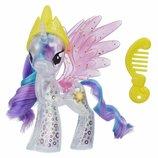 My Little Pony Принцесса Селестия с блестками e0672 the movie princess celestia glitter celebration