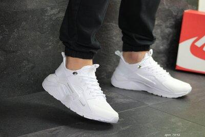 Кроссовки мужские Nike Huarache Fragment Design white
