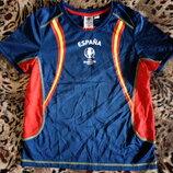 Фирменная функциональная футболка Евро 2016 Франция спортивная 146-152см Отличная новая футболка