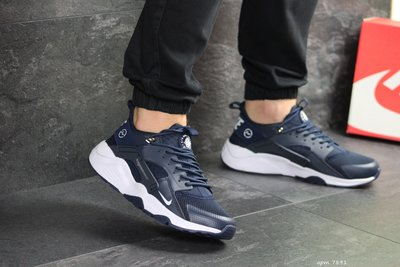Кроссовки мужские Nike Huarache Fragment Design blue