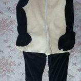 Карнавальный новогодний анимационный костюм баранчик Шон овечка для взрослых