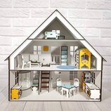 Кукольный домик. Домик для лол. Дом для игрушек.