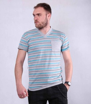 Недорогая мужская летняя футболка