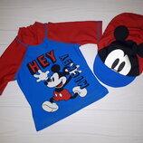 Кофта и кепка для купания Disney 9-12 мес бу