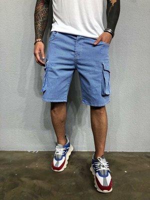 Стильные мужские шорты в полоску,3 цвета 30-36