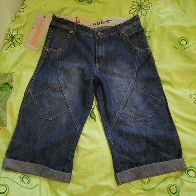 Шорты джинсовые мужские с 6 карманами.