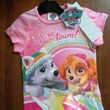 Детская футболка для девочки Щенячий патруль Скай Эверест