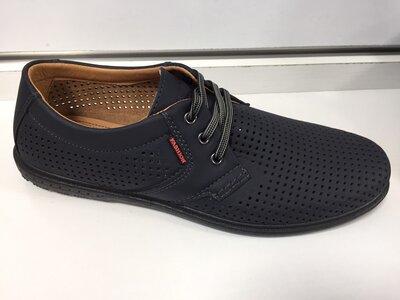Качество супер Мужские туфли с перфорацией