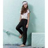 Натуральные летние штаны на 6-8 лет из вискоза пр-во Германия супер качество султанки шаровары