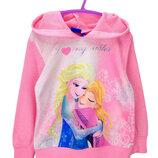 Худи, кофта с капюшоном Disney, Frozen для девочки р.104-128