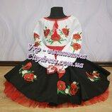 116 128 Украинский костюм с вышивкой ,вышиванка