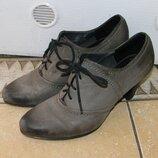 Туфли на шнуровке Tamaris, размер 40