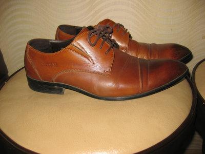 туфли кожа,Лакосте фирма размер 41.