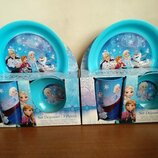 Детская посуда Disney Анна и Эльза ELZA Скай