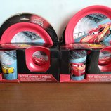 Детская посуда Disney Тачки Маквин Человек паук Спайдермен щенячий партуль
