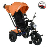 Велосипед 3-х колесный Best Trike 4490- 2903, поворотное сиденье, складной руль, русское озвучивание