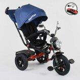 Велосипед 3-х колесный Best Trike 4490- 9037, поворотное сиденье, складной руль, русское озвучивание