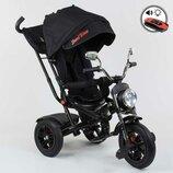 Велосипед 3-х колесный Best Trike 4490- 7009, поворотное сиденье, складной руль, русское озвучивание
