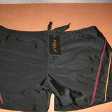 Плавки для купания мужские FUBA.YI черные на шнуровке р.50