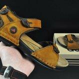 Сандалии мужские кожанные Adidas ginger