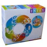 Надувной Круг ВИХРЬ Цвета INTEX 58202