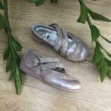 Кожаные туфельки 16 cm