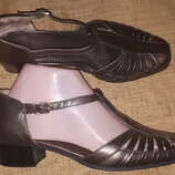 4р-24.5 кожа туфли Medicus каблук 3 см ширина стельки 8 см цвет под бронзу анатомическая стелька