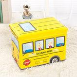 Пуф-Ящик для игрушек