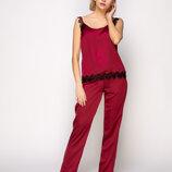 Стильная женская пижама шелк 807 от Serenade Комфортная и элегантная