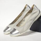 Шикарні шкіряні туфлі-балетки Caprice, Німеччина-Оригінал