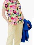 Женский летний брючный костюм тройка ткань летняя костюмка скл.1 арт. 54499