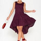 Жіноча сукня, Ассиметричное платье. женское платье хлопковое. женское нарядное платье
