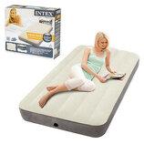 Велюр кровать Intex 64707