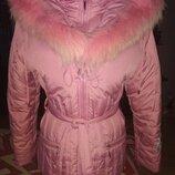 Очень красивая, теплая, удобная куртка. Оригинал. Kiko. На бирке 14/164