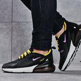 Кроссовки женские Nike Air 270, черные