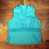 54-65 наш размер.блузка бирюзового цвета от Marks Spenser