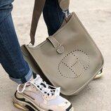 Женская кожаная сумка Hermes Eveline