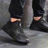 Мужские кроссовки Nike Huarache black