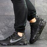 Nike Undercover X Nike React Element 87 кроссовки мужские демисезонные черные 7905