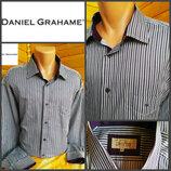 Элегантная рубашка в полоску от Daniel Gahame, оригинал, р.XXL