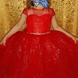 Платье на выпускной в садик, р. 30