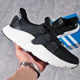 Мужские кроссовки Adidas Prophere black/white